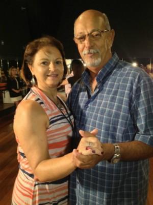 Aula de dança (Foto: Sonia Campos/RBS TV)