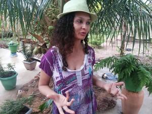 Solange Cavalcante, eleitora de Gurupi  (Foto: Jairo Santos/TV Anhanguera)