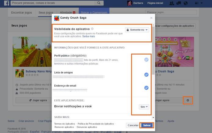 como encontrar e gerenciar os jogos no facebook pelo pc