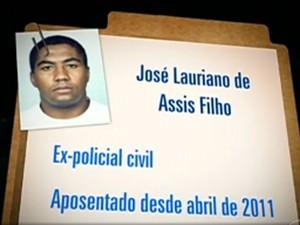 José Lauriano de Assis Filho (Foto: Reprodução / TV Globo / Fantástico)