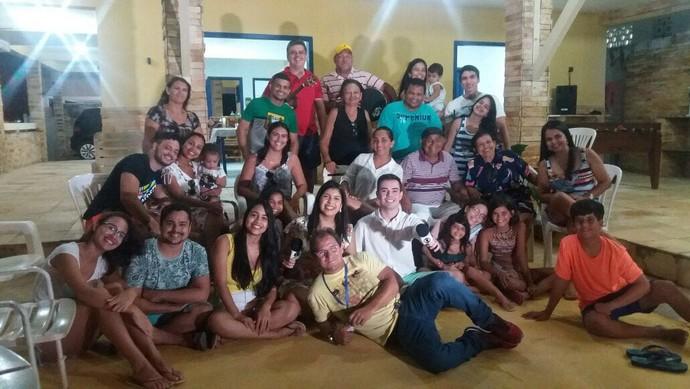 Invasão a casa de praia em Jacumã (Foto: Produção)