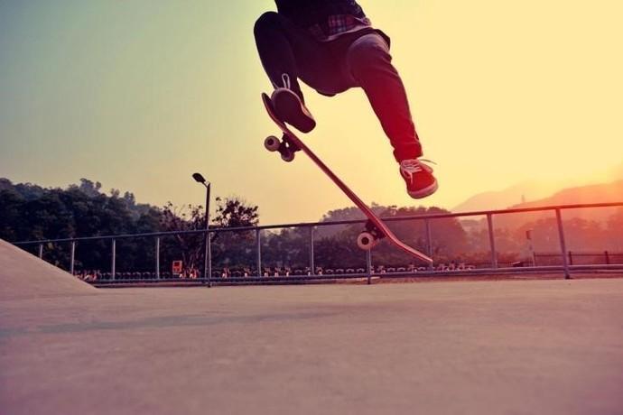 Motorola A incrível manobra de skate (Foto: Divulgação)
