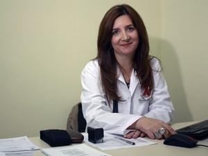 A médica argentina Sandra Besold fez seu primeiro atendimento nesta quarta-feira, em Novo Hamburgo (Foto: Diogo Fernandes/Divulgação)