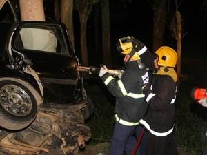 Acidente em Araranguá deixou dois mortos (Foto: Revista W3/Divulgação)