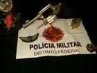 Homem é pego no DF com bala de uso restrito usada por polícia dos EUA