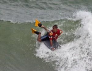 Lucas Nogueira, bodyboarder capixaba, Salvador (BA) 2012 (Foto: Fabriciano Jr/Surf Bahia/Divulgação)
