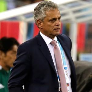 Reinaldo Rueda técnico jogo Equador x Honduras (Foto: Reuters)