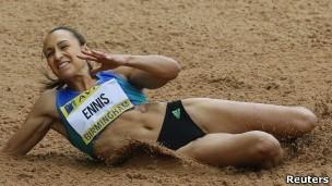 Ennis (Foto: BBC/Reuters)