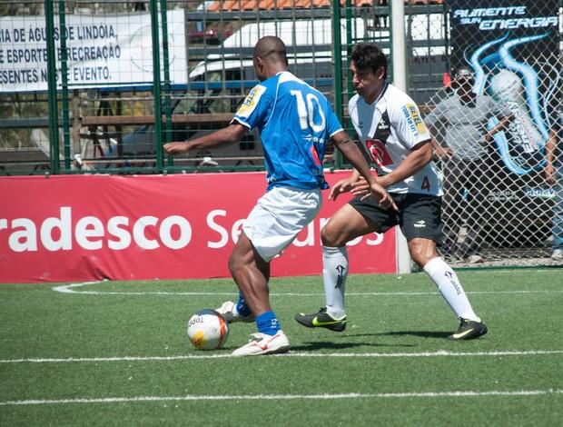Cruzeiro Da Silva Vasco Alex Pinho Brasileiro showbol (Foto: Luiz Carlos Quadro Jr/Divulgação)