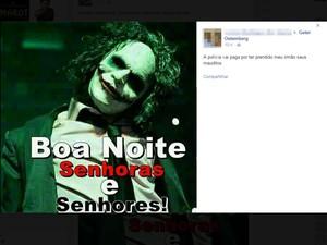 Procurado em MS usa Facebook para ameaças e novos deboches à polícia (Foto: Reprodução/ Facebook)