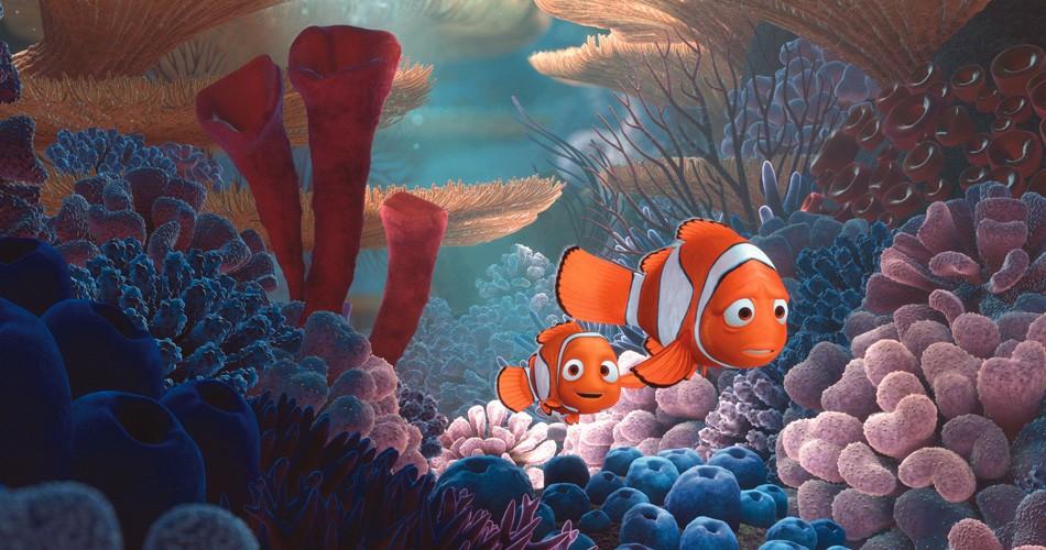 Nemo e o pai, Marlin (Foto: Divulgação)