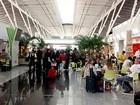 Aeroporto espera 394 mil usuários em 8 dias (Lucas Nanini/G1)