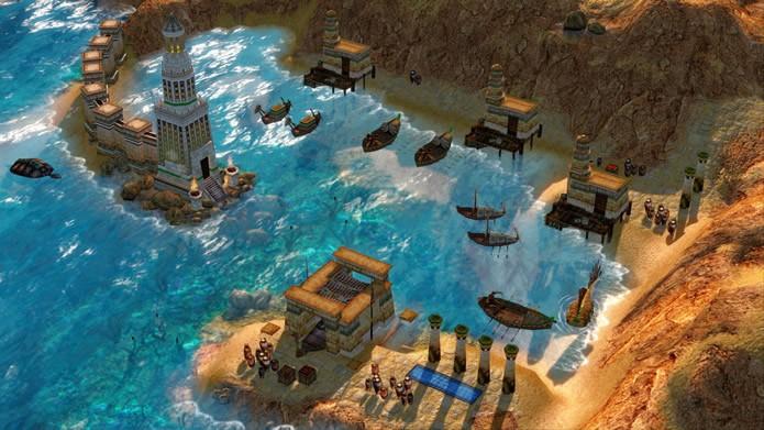 Mantendo suas excelentes músicas, o game melhorou uma série de detalhes em seus aspectos visuais, como, por exemplo, os movimentos e aparência de mares e rios (Foto: Divulgação/Microsoft Studios)