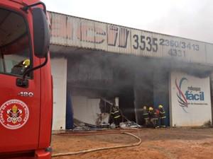 aeronaves - [Brasil] Empresário de RO constrói avião e sonha com fábrica de aeronaves Incendio_1