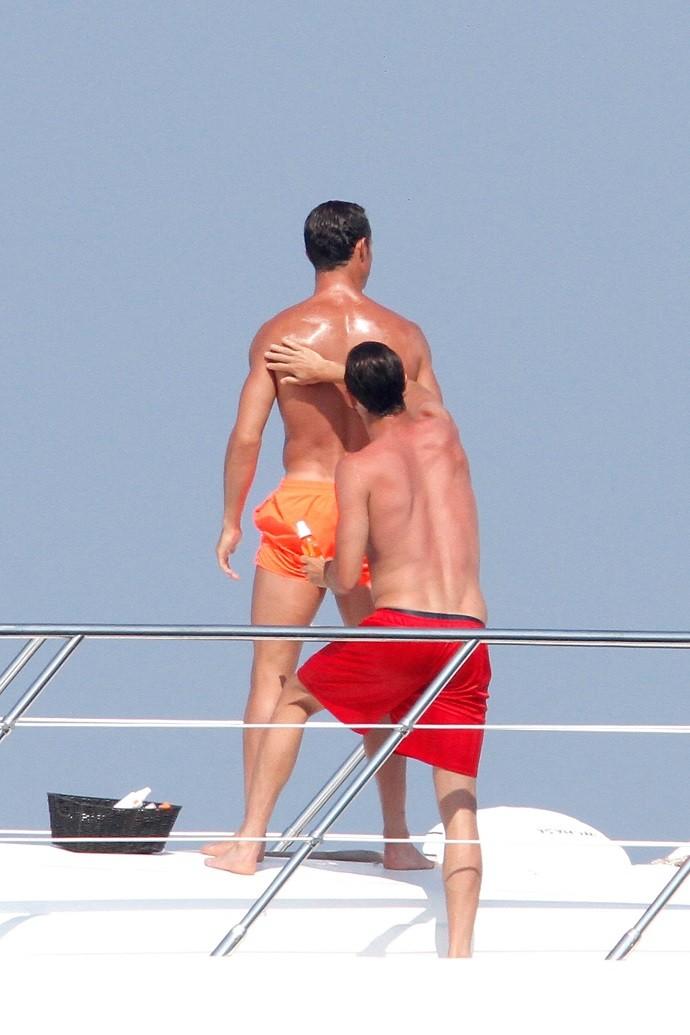 Cristiano Ronaldo St Tropez