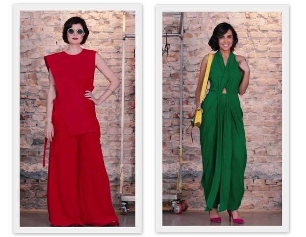 Batalha das editoras: Larissa Lucchese e Camila Lima escolhem seus looks colors (Foto: Marie Claire)