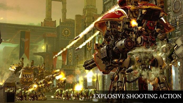 Warhammer é o game mais bonito da semana para iOS (Foto: Divulgação / Pixel Toys)