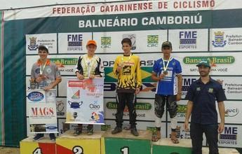 Atleta tocantinense conquista bronze na Copa do Brasil de BMX