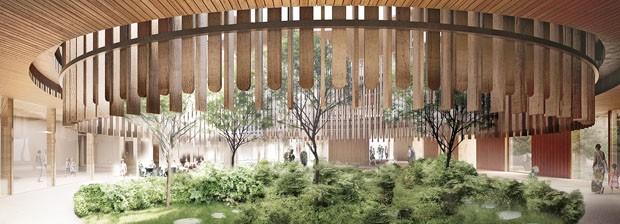 Zurique se preparar para receber Hospital Infantil horizontal e holístico em 2022 (Foto: Divulgação)