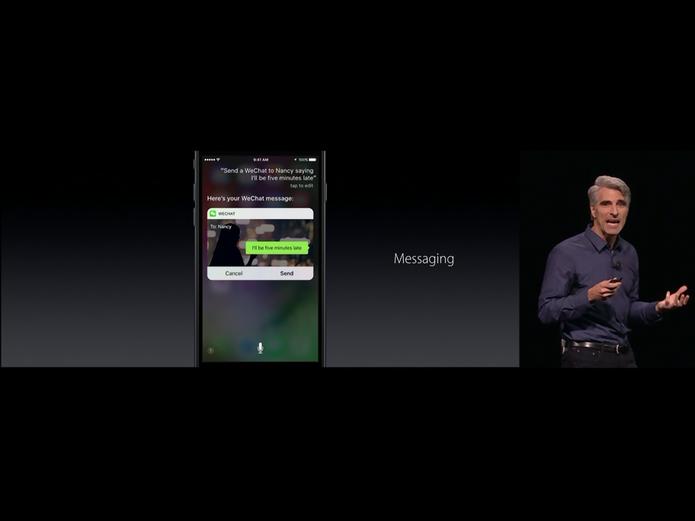 WeChat no iOS 10 (Foto: Reprodução/Apple)