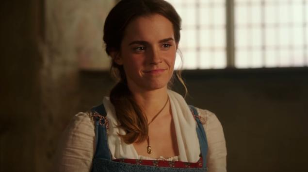 """Emma Watson em """"A Bela e a Fera""""  (Foto: Reprodução/Youtube)"""