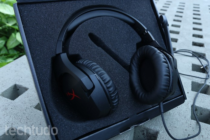 Headset HyperX Cloud Stinger (Foto: Ana Marques/TechTudo)