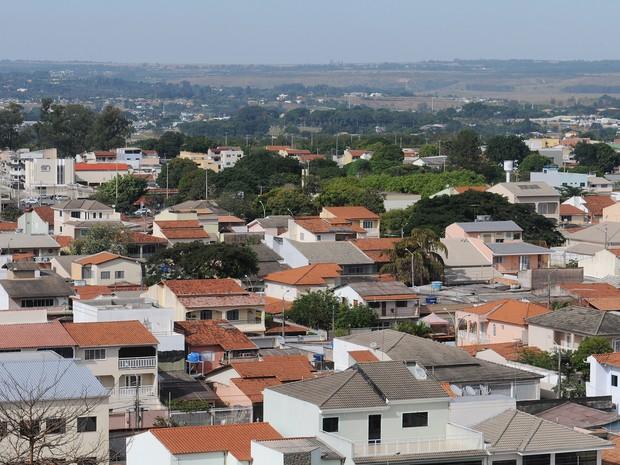 Casas no Guará vistas de cima (Foto: Dênio Simões/Agência Brasília)