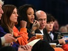 Rihanna vai a jogo de basquete nos Estados Unidos