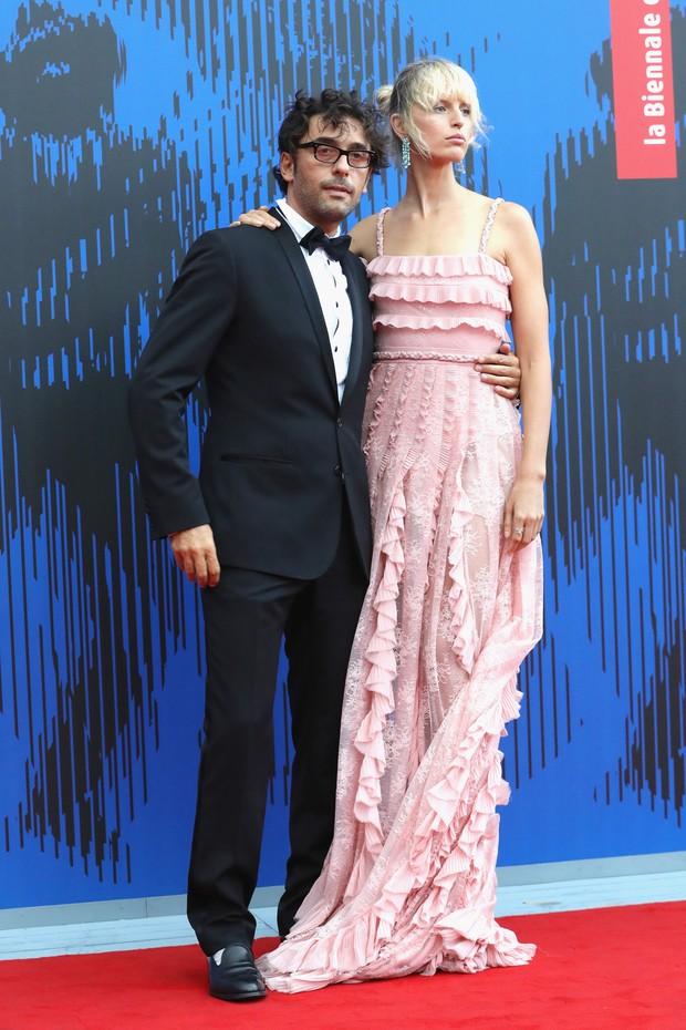 Lorenzo Serafini e Karolina Kurkova (Foto: Vittorio Zunino Celotto/Getty Images)