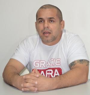 Henrique Machado, professor faixa preta de 5º grau (Foto: Duaine Rodrigues)
