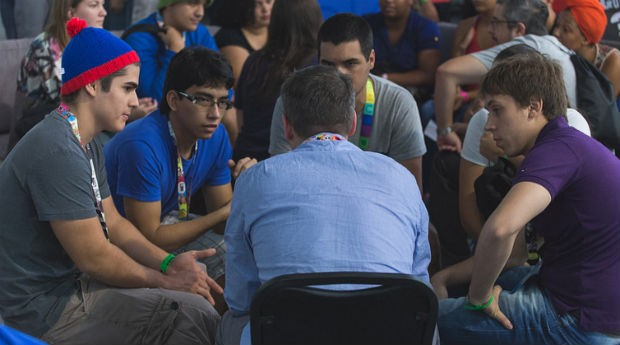 Jovens na Campus Party (Foto: Divulgação/Willian Soares Alves)