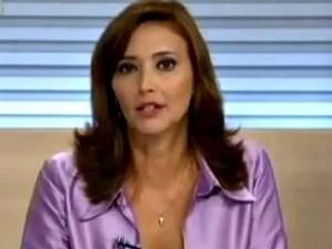 Cristina Serra é repórter da TV Globo em Brasília (Foto: Divulgação)
