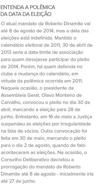 DATA_ELEICAO_VASCO-3 (Foto: Infoesporte)