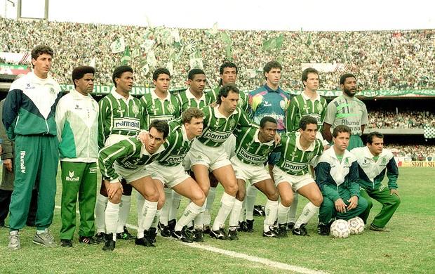 time posado palmeiras corinthians final paulistão 1993 (Foto: Agência Gazeta Press)