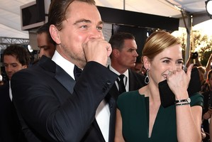 """Kate Winslet não vai boicotar o Oscar: """"É o ano do Leo"""""""