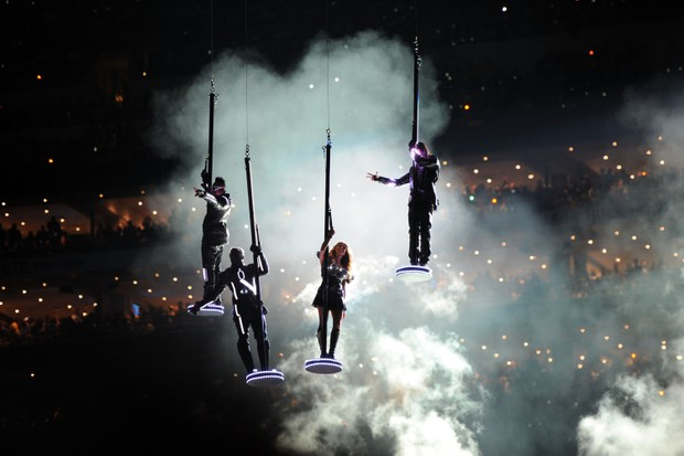 The Black Eyed Peas no Super Bowl 2011 (Foto: Kevin Mazur / Contributor / Getty)