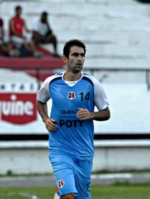 Renan Fonseca - Santa Cruz (Foto: Aldo Carneiro/Pernambuco Press)