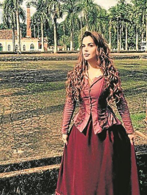 Robertha Portella será Petúnia em 'Escrava mãe' (Foto: Divulgação)