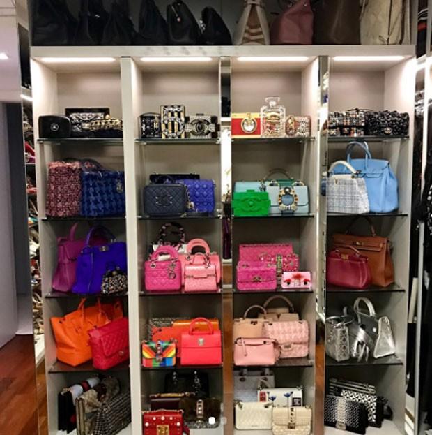Closet de Lala Rudge (Foto: Reprodução)