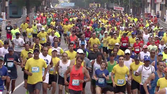 Veja como participar dos 10 KM Tribuna FM (Foto: Reprodução/TV Tribuna)