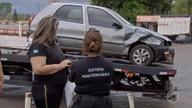 Agente penitenciário sofre acidente indo para o trabalho em MS