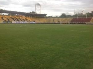 Estádio - Dedé e Diego Souza reúnem amigos em partida em Volta Redonda (Foto: Vinícius Lima/GloboEsporte.com)