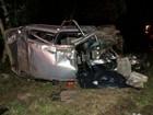 Batida entre moto e carro mata duas  pessoas e deixa cinco feridas no PR