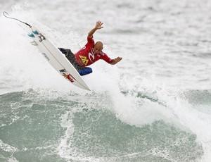 Kelly Slater surfe Portugal (Foto: EFE)