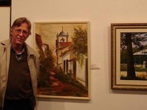 O artista plástico Walter Berner faz exposição em Petrópolis, RJ (2) (Foto: Divulgação)