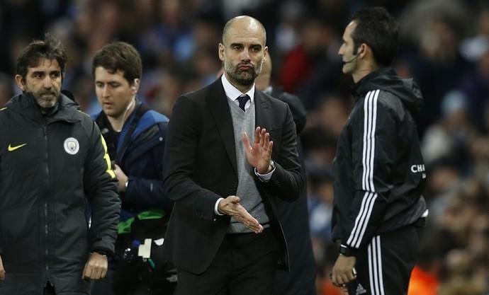 Pep Guardiola Manchester city x Monaco (Foto: Reuters)