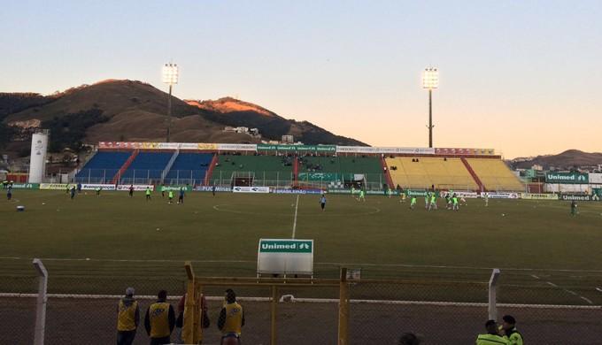Estádio Ronaldão (Foto: Lúcia Ribeiro)
