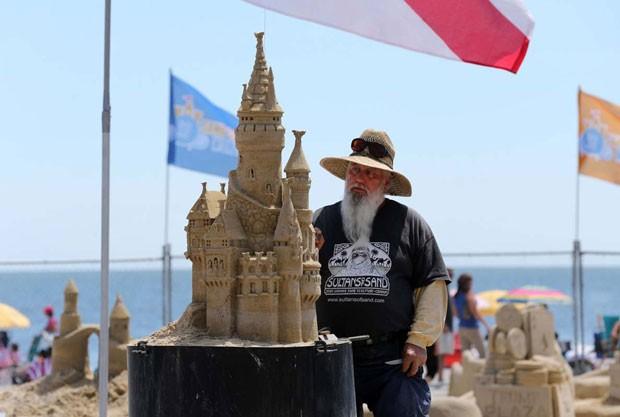 Americano Rich Varano foi um dos 20 participantes do torneio (Foto: Ben Fogletto/The Press of Atlantic City/AP)