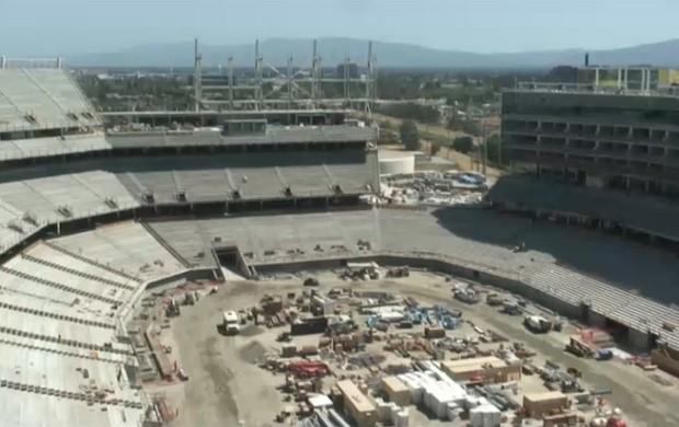 Obras Levis Stadium San Francisco 49ers (Foto: Reprodução)