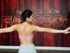 Carol Castro mostra marcas nos braços após ensaio para o 'Dança'